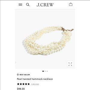 J. Crew Jewelry - J crew pearl necklace (2 of them)